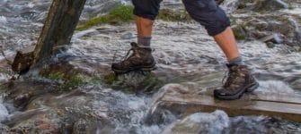 Hoe ik mijn wandelschoenen om zeep hielp