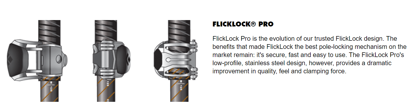 Black Diamond FlickLock Pro