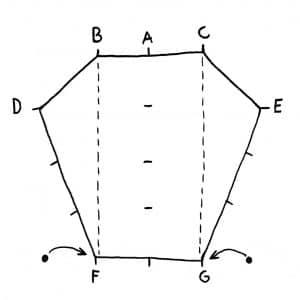 Tarp setup - step 4