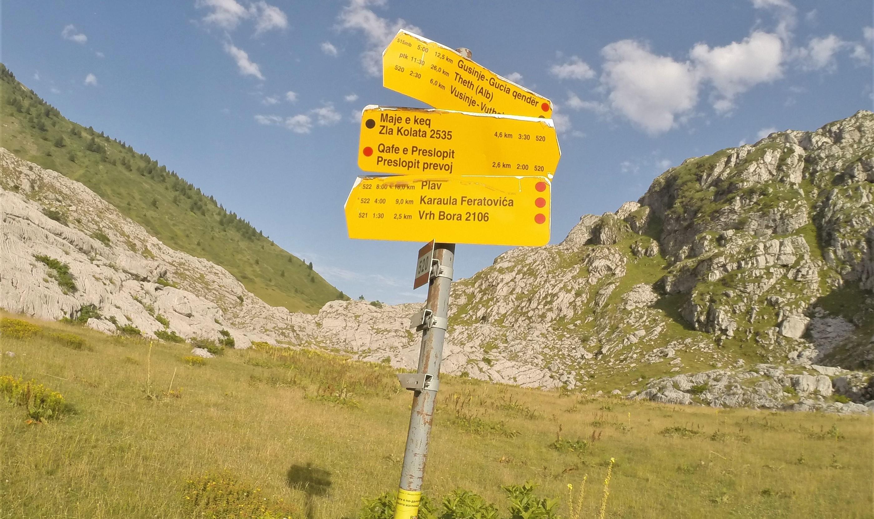 Route to Zla Kolata