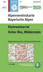 Alpenvereinskarte Kleinwalsertal