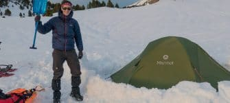 Winter trekking in the Vercors (snowshoes and pulka style)